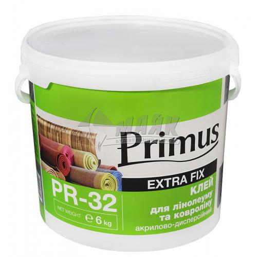 Клей для лінолеуму та ковроліну Primus акриловий 6 кг