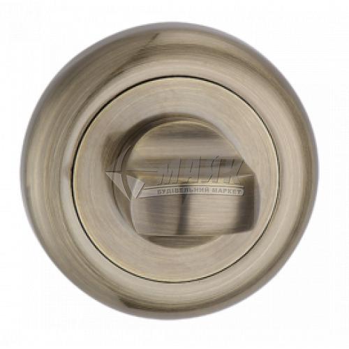 Фіксатор круглий MVM WC T8 AB стара бронза