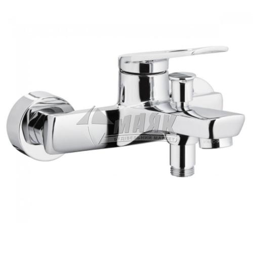 Змішувач для ванни Armatura Amazonit без душового комплекту одноважільний настінний