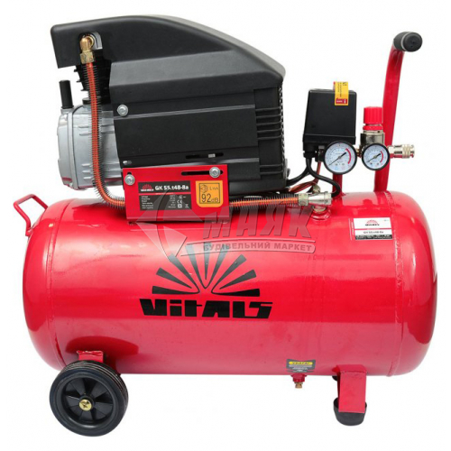 Компресор повітряний Vitals GK55.t48-8a 1,5кВт 55 л