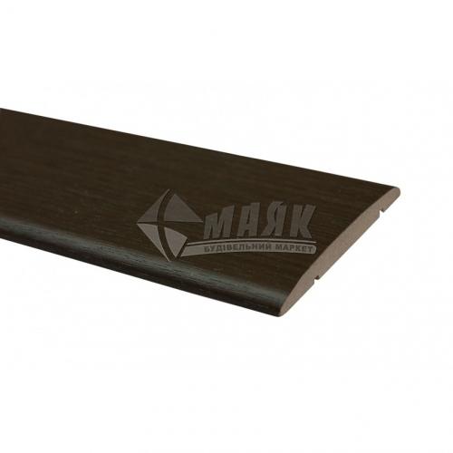 Налічник ОМіС ПВХ прямий 70 мм 2,2 м венге