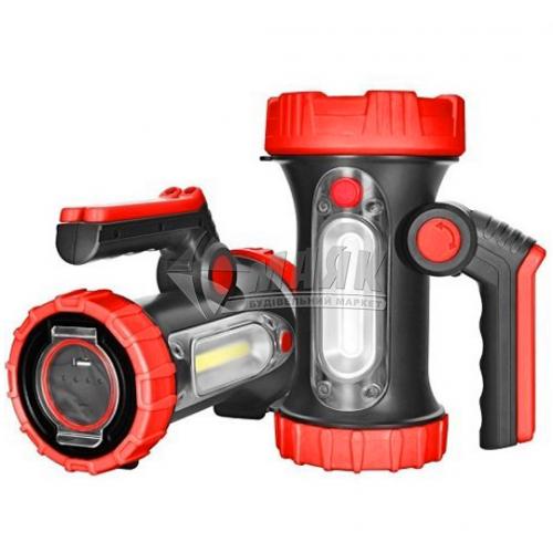 Ліхтар ручний акумуляторний Stark L-1-01 LED