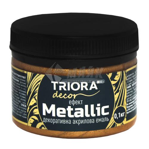 Фарба декоративна TRIORA Metallic 0,1 кг 922 бронза