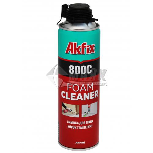 Очисник монтажної піни Akfix 800C 500 мл/345 г