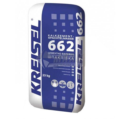 Шпаклівка вапняно-цементна Kreisel 662 фінішна 25 кг