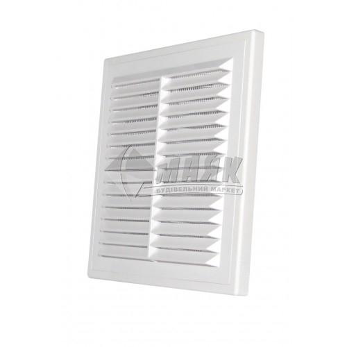 Решітка вентиляційна квадратна DOSPEL D/250 RW 249×249 мм біла