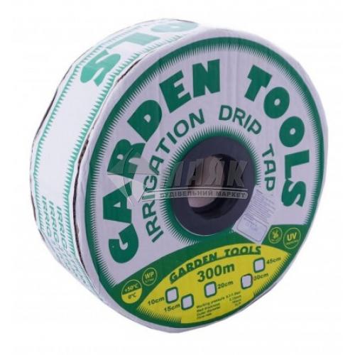 Крапельна стрічка Garden Tools 6 mils (0,15 мм) 30 см х 300 м