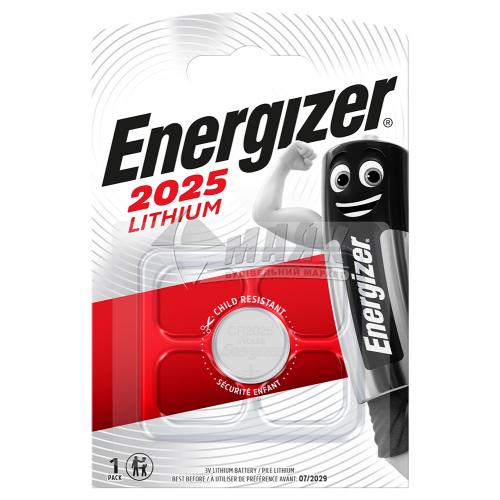 Батарейка ENERGIZER CR2025 Lithium літієва 1 шт