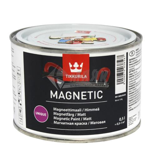 Фарба декоративна Tikkurila Magnetic 0,5 л сіра