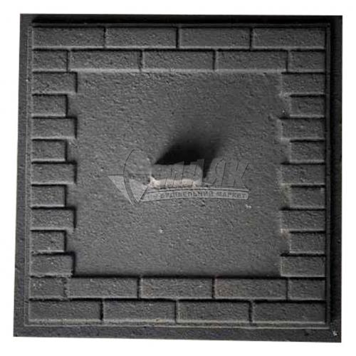 Дверцята прочисні чавунні Булат Замкові 170×170 мм 2,7 кг