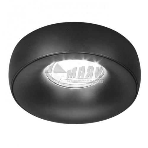Світильник точковий вбудований Feron DL1842 МR16 GU5.3/G5.3 матовий чорний