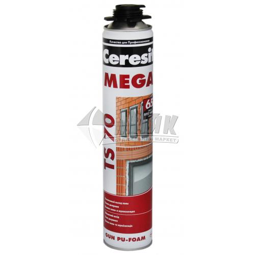 Піна монтажна професійна Ceresit TS 70 MEGA 65 л літня 850 мл