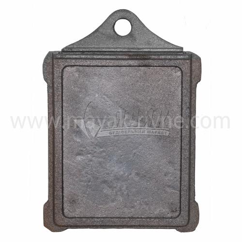 Шибер (заслонка) чавунний Булат ШЧ-3 320×230×270 мм 3,3 кг