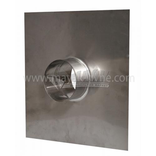 Закінчення димоходу (дахове перекриття) ВЕНТ УСТРІЙ 1,0 мм 110 мм нержавіюча сталь 201