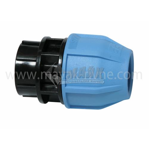 """Муфта для водопровідної труби VS Plast 32 мм 1"""" внутрішня різьба"""