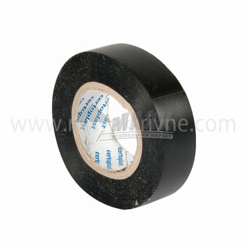 Стрічка ізоляційна Certoplast ПВХ 19 мм х 26 м чорна