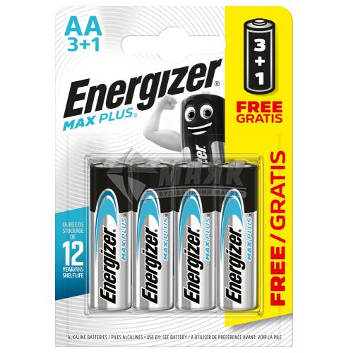 Батарейки ENERGIZER AA Max Plus лужні 3+1 шт