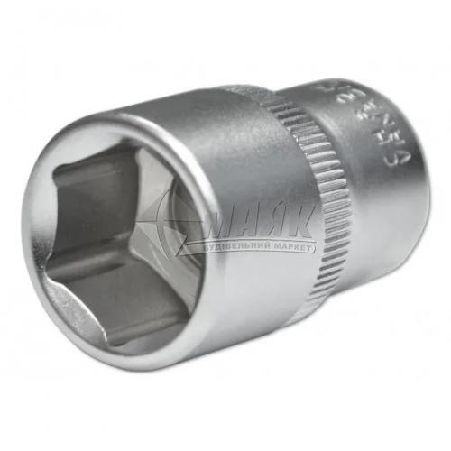"""Головка торцева шестигранна BERG 1/2"""" 19 мм Cr-V"""