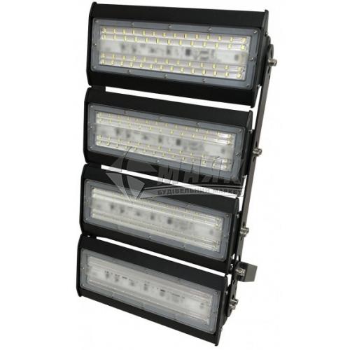 Прожектор світлодіодний секційний Luxel LX-200C 200Вт 6500°К чорний