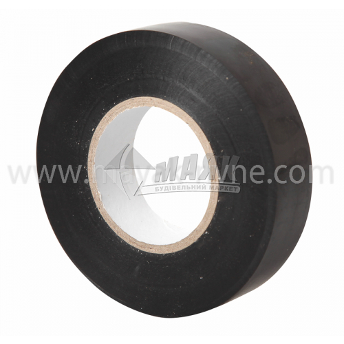 Стрічка ізоляційна IEK ПВХ 19 мм х 20 м чорна