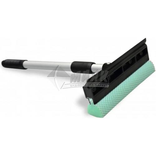 Губка для скла 230 мм телескопічна ручка