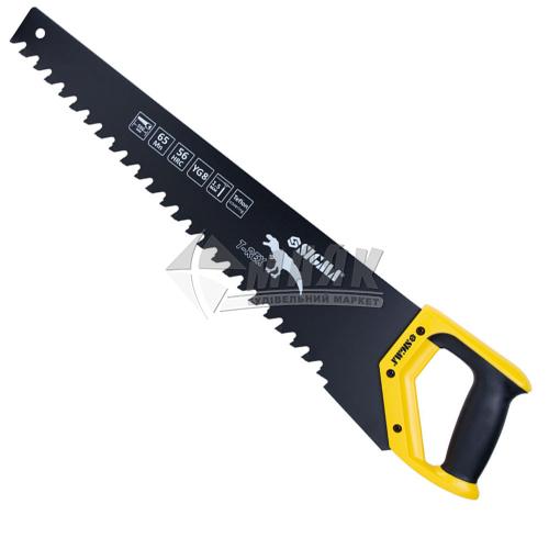 Ножівка по піно- та газобетону SIGMA T-Rex тефлонове покриття 550 мм пластикова ручка