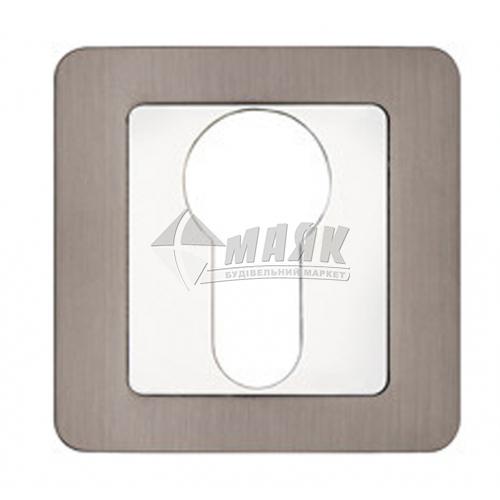 Накладка на циліндр квадратна Code Deco DP-C-22-GRF (UA) графіт