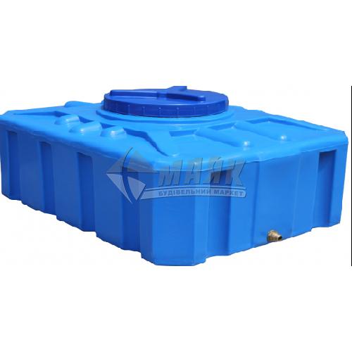 Ємкість двошарова харчова квадратна пластикова Євро Пласт EК П 100 л