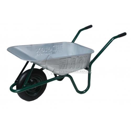 Тачка будівельно-садова DETEX одноколісна 85 л