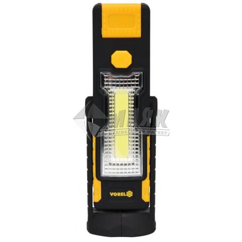 Ліхтар підвісний на батарейках VOREL 82733 2 LED 3+1В з магнітом