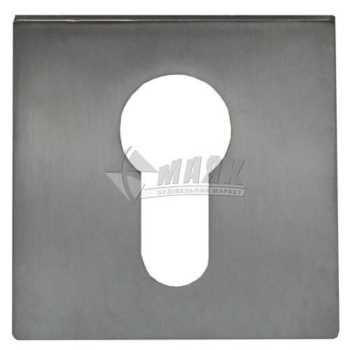 Накладка на циліндр квадратна MVM E20 MC хром матовий