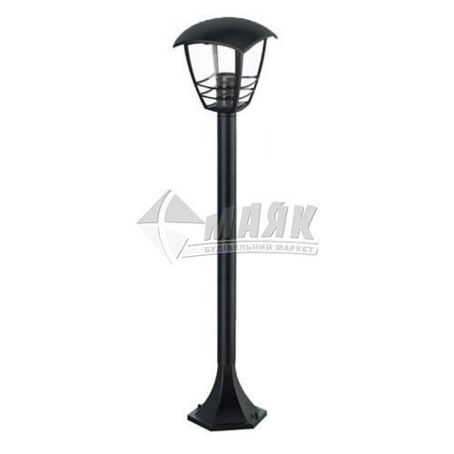 Світильник вуличний HOROZ NAR-5 60Вт Е27 IP44 стовпчик чорний