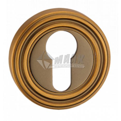 Накладка на циліндр кругла MVM E10 MACC бронза матова