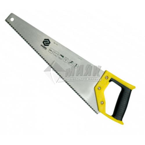 Ножівка по дереву VOREL 7TPI 450 мм пластикова ручка