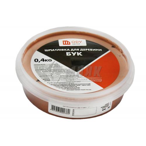 Шпаклівка акрилова для дерева ODV Group 0,4 кг бук