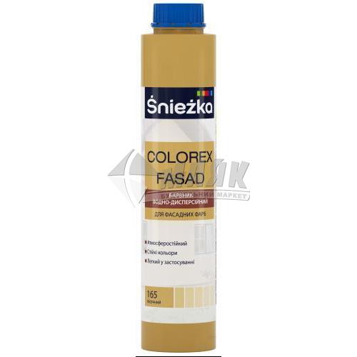 Барвник Sniezka Colorex Fasad 0,75 л 165 пісочний