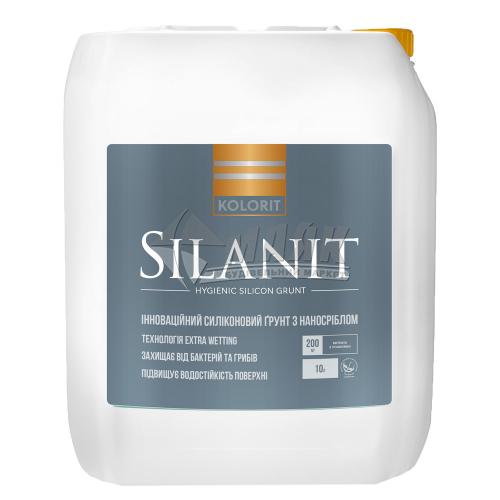 Ґрунтовка для зовнішніх робіт Kolorit Silanit (Start Grunt Silicone) 2 л