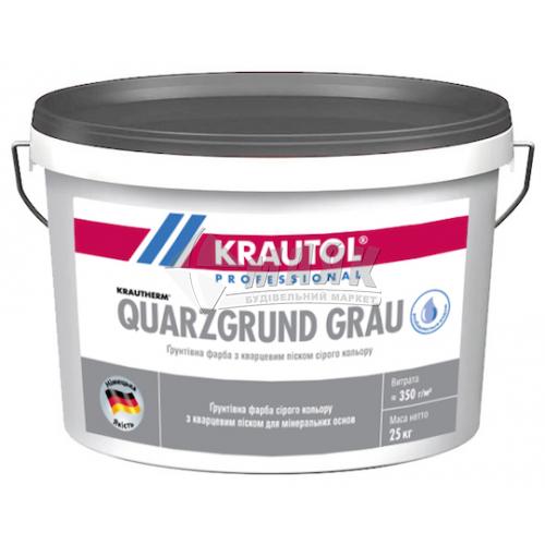 Ґрунтувальна фарба KRAUTOL Quarzgrund Grau 25 кг