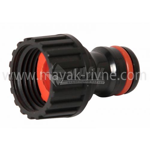 """Адаптер для крана пластиковий Bradas GL5705/PWB2196 із внутрішньою різьбою 1/2"""""""