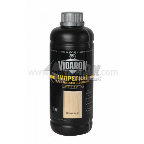 Антисептик (просочення) Vidaron Імпрегнат концентрат 1:9 для внутрішніх та зовнішніх робіт 1 кг безбарвний