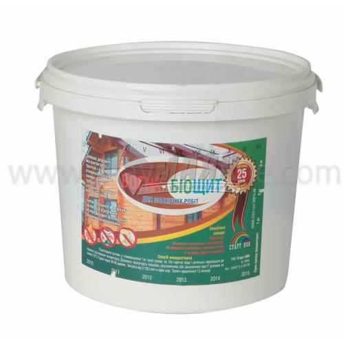 Антисептик (просочення) Старт НОВ Вогне-Біощит концентрат 1:10 для зовнішніх робіт 3 кг