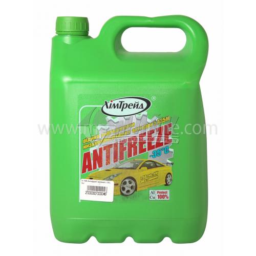Антифриз ХімТрейд -35°C 4,92 кг зелений