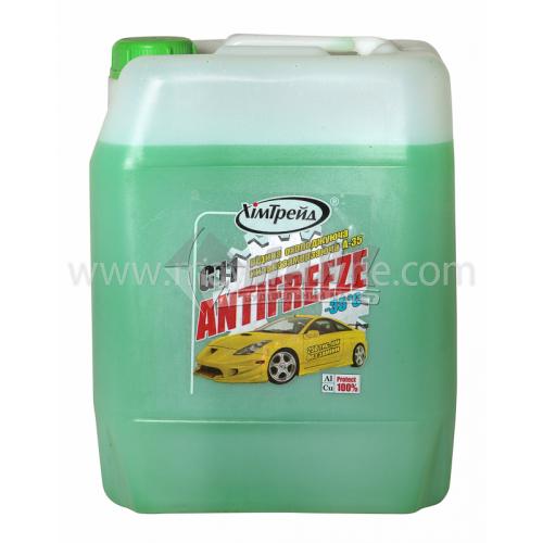 Антифриз ХімТрейд -35°C 10,7 кг зелений