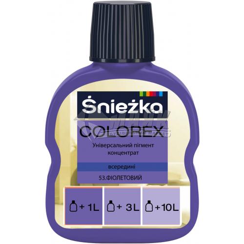 Барвник Sniezka Colorex 100 мл 53 фіолетовий