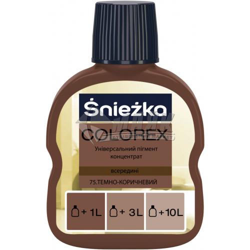 Барвник Sniezka Colorex 100 мл 75 темно-коричневий