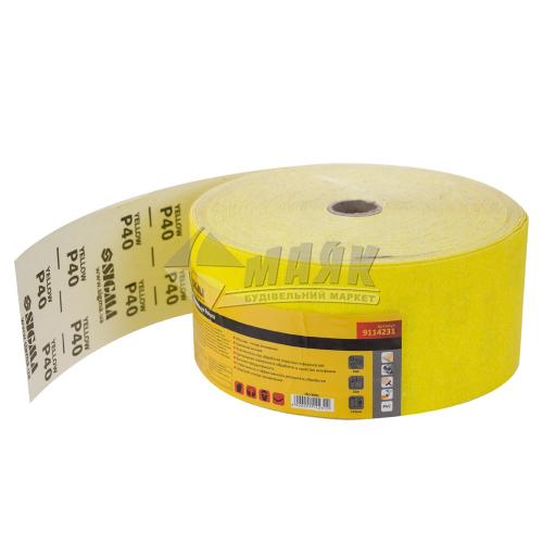 Папір абразивний (наждачний) SIGMA P40 115 мм