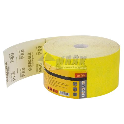 Папір абразивний (наждачний) SIGMA P60 115 мм