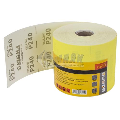 Папір абразивний (наждачний) SIGMA P240 115 мм