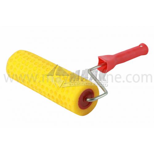 Валик структурний горошок Favorit 80×250 мм ручка 8 мм