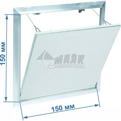 Дверцята ревізійні F2 G:125 150x150 мм гіпсокартон 12,5 мм